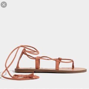 Madewel boardwalk lace up sandals